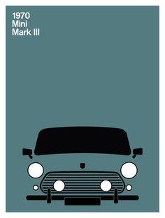 Print Collection - Mini Mark III, 1970
