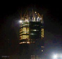 China constrói arranha-céu completo de 57 andares em um recorde de 19 dias
