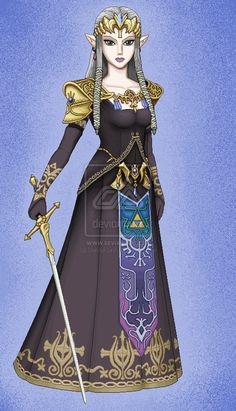 Dark Princess Zelda by Daniel-Link.deviantart.com on @deviantART