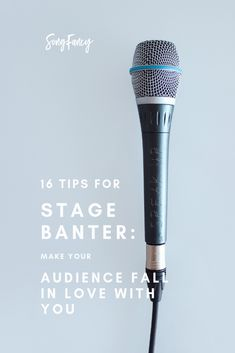 16 Tips for Stage Banter: Make Your Audience Fall In Love With You Songwriting tips and creative inspiration for the contemporary songwriter. Learn how to write a song, how to write lyrics, and how to write your best songs. Singing Lessons, Singing Tips, Learn Singing, Singing Career, Writing Lyrics, Music Writing, Start Writing, Call And Response, Song Challenge