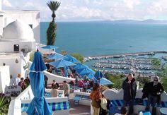 Café Des Délices ~~ Sidi Bou Saïd ( Tunisia )