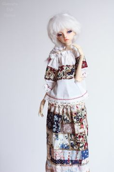 Outfit blouse & skirt for Doll Chateau KID bjd doll by GlamouriaDollClothes on Etsy https://www.etsy.com/listing/586845742/outfit-blouse-skirt-for-doll-chateau-kid