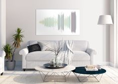 sound wave in living room