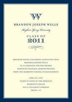 College Graduation Announcement Tips Tricks Pinterest - Graduation invitation examples
