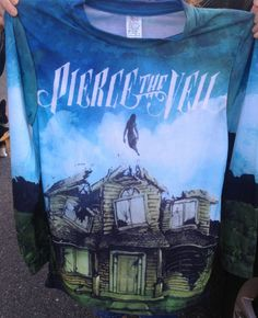 Non-Profit, light weight Pierce the Veil's Collide with the Sky Unisex Crewneck Sweatshirt Longsleeve tee- READ INFO