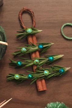 Cinnamon Stick Christmas Tree Ornaments - WomansDay.com
