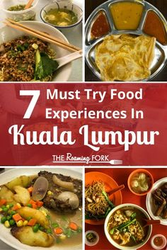Kuala Lumpur Malaysia is rich with food experiences from street food bustling markets local and regional specialties to fusion cooking from around the world. Come learn more! George Town, Ipoh, Halal Recipes, Asian Recipes, Penang, Kuala Lumpur Travel, Petronas, Malaysia Travel, Malaysia Trip