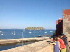 Sab.15 giugno, ore 18: E ora che succede? Fermiamoci ad ammirare le barche in rada fra Ventotene e Santo Stefano!