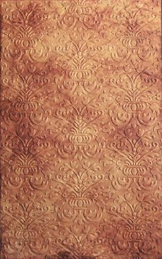 Faux Leather Technique for Paper. Learn this great technique to turn ordinary cardstock into Embossed Faux Leather!