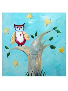 "Cici Art Factory 12""x 12"" Night Owl by Cici Art Factory, http://www.amazon.com/dp/B006QI53NY/ref=cm_sw_r_pi_dp_bhRssb0X8PK4K"