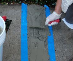Repairing Raised Concrete with Sakrete Top 'N Bond | Crack Repair | Sakrete Concrete Coatings, Concrete Slab, Repair Cracked Concrete, Polymeric Sand, Bond, Succulents, Outdoors, Building, Garden
