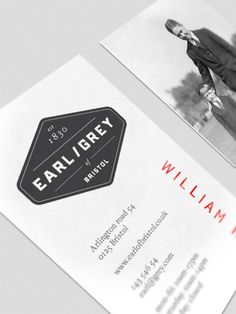 """A visual identity for a fictive company ""Earl/Grey"". The idea was to give the tea ""Earl grey"" a helping hand to become popular again."""