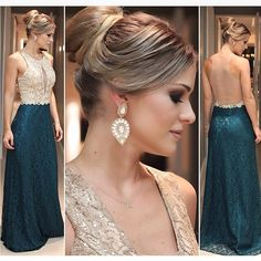 Scoop Lace Mermaid Prom dresses for party Long 2015 New Sexy Sheer Back Sleeveless Guest Formal Gowns robe soiree Abendkleid Mermaid Prom Dresses Lace, Prom Dresses 2018, Lace Evening Dresses, Lace Dresses, Sexy Dresses, Evening Gowns, Short Dresses, Lace Mermaid, Prom Gowns