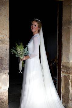 Valeria Carbó con vestido de Tot-Hom