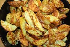 Ruokasurffausta: Nopeat ja herkulliset lohkoperunat Pretzel Bites, Kung Pao Chicken, Bacon, Potatoes, Bread, Vegetables, Breakfast, Ethnic Recipes, Food