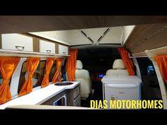 Kombihome Kombinet Victória Motor Homes - VW Kombihome - YouTube