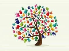Friendship tree.... This reminds me of Kids in Harmony.