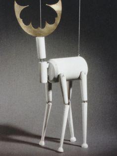 Sophie Taeuber-Arp | The King Stag | marionette | School for Applied Arts, Zurich, Switzerland | c. 1918
