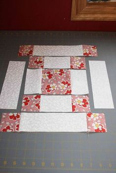 Sewing Quilts very easy block tutorial for beginning quilters Beginner Quilt Patterns, Quilting For Beginners, Quilt Block Patterns, Quilting Tutorials, Pattern Blocks, Quilting Projects, Quilting Designs, Quilting Ideas, Simple Quilt Pattern