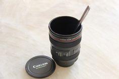 Camera Lens Coffee Mug for $14.95 at trendysgear.com