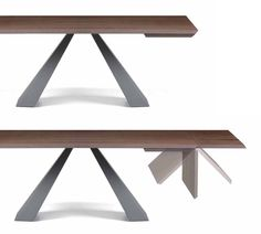 Eliot Wood Drive Dining Table, Contemporary Dining Room Design at Cassoni.com