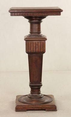 Wooden Mahogany Pedestal