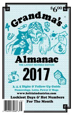 2017 Grandma's Almanac - Lottery Book: 2017 Grandma's Almanac - Lottery Book - Sold For Entertainment Purposes Only