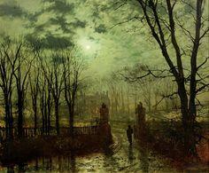 John Atkinson Grimshaw (6 septembre 1836 – 13 octobre 1893) est un peintre de l'époque victorienne, remarquable et imaginatif, surtout connu pour ses paysages bucoliques et urbains. John Atk…