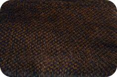 Peacock Faux Fur Gold/Grey