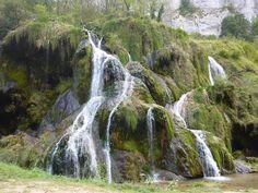 Cascades de Beaume les Messieurs Jura. Op kleine 30 km. De moeite!