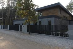 Fence, My House, Garage Doors, Exterior, Landscape, Outdoor Decor, Houses, Home Decor, Gardens