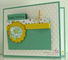 Nice card and a great idea for gift card holder. Never enough when there's teenagers and youngins' around!