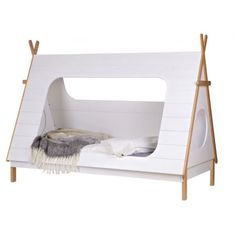 Woood+Tipi+kinderbed+90x200cm - Nice bed for the kidsroom - Play and sleep! - Tipi bed
