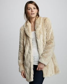 Faux-Fur Coat by Graham & Spencer at Neiman Marcus.