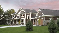 Floor Plan AFLFPW15466 - 2 Story Home - 4 BR