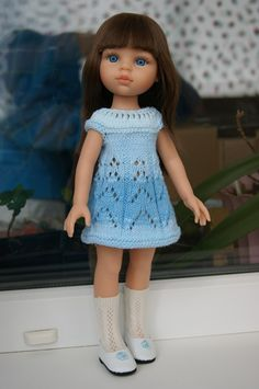 Примеряли с куклами Паола Рейна новые глазки, а заодно и новые платья / Куклы Паола Рейна, Paola Reina / Бэйбики. Куклы фото. Одежда для кукол