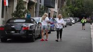 EXCLUSIVE VIDEO Not too busy for family! Roxy Jacenko picks up son Hunter from first day of school