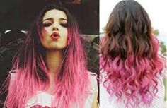 This is the color pink I want to dye my hair someday soon...