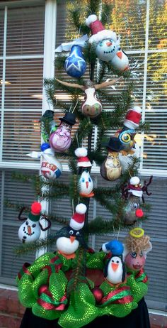 All ornaments are hand painted, hand crafted using acrylic medium. embellished and adorned with a variety of things.