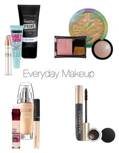 """""""Everyday"""" by klr050701 on Polyvore featuring beauty, Maybelline, L'Oréal Paris, Lumi, Physicians Formula and e.l.f."""
