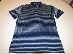 Men's Polo Ralph Lauren short sleeve shirt S 0491531 sp clsscs Golf Pro Fit strp #PoloRalphLauren #Polo