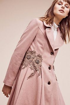 Astoria Embroidered Coat