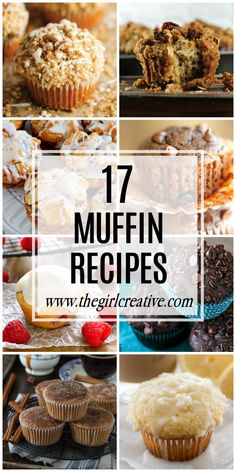17 Muffin Recipes to make breakfast on the go a piece of cake!