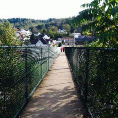 Walking bridge WV.