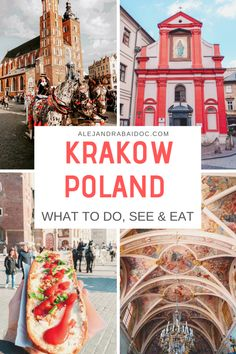 Krakow Poland is a hidden gem in Europe. Here are some of the best things to do, see and eat in Krakow and why you should add it to your bucket list. Most Beautiful Cities, Beautiful Places To Visit, Cool Places To Visit, Poland Cities, Poland Culture, Visit Krakow, Travel Tips For Europe, Travel Info, Visit Poland