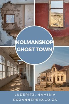 Kolmanskop: why to visit Namibia's ghost town - Roxanne Reid Abandoned Cities, Abandoned Amusement Parks, Abandoned Mansions, Abandoned Houses, The Places Youll Go, Places To Go, Wildlife Safari, Road Trip Essentials, Old Churches