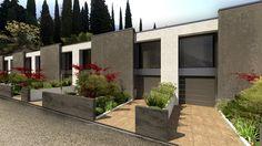 CASE MODULARI IN LINEA, Castellucchio, 2012 - EKOPLAN Architetture