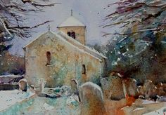 jean haines artist | ... Painting Virtual Gallery - Jean Haines, Artist - 2011 Christmas Cards