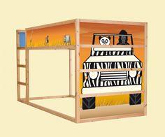Aufkleber Für Das Hochbett IKEA KURA