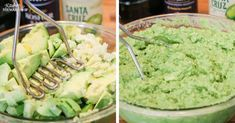 How to freeze guacamole. Save money and time by having this staple in the freezer. Recipe and tips for freezing. Use a potato masher for big batches. Avocado Recipes, Freeze Avocado, How To Ripen Avocados, Appetizer Recipes, Appetizers, Homemade Crackers, Homemade Guacamole, Easy Party Food, Cheap Dinners
